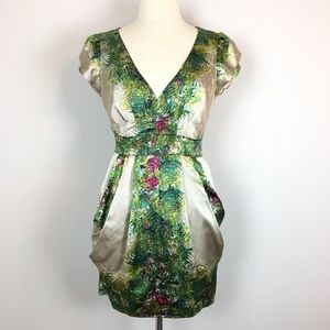 Nanette Lepore Silk Dress With Pockets